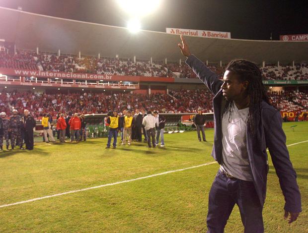 Tinga no Beira-Rio, Internacional x Estudiantes