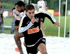 Ricardinho no treino do Atlético-MG