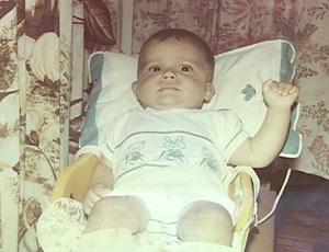 Nilmar bebê