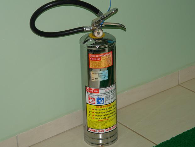 extintor de incêndio CT do Goiás