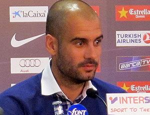 guardiola em entrevista