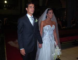 Nilmar e Laura, dia do casamento