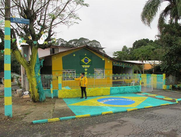 Casa de Curitiba decorada