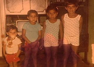 Daniel Alves, infância com amigos