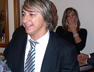 Paulo Nunes, durante o evento Encontros do Esporte