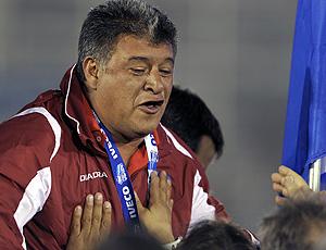 Claudio borghi em jogo do argentinos juniors