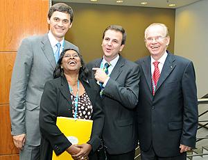Eduardo Paes e comitiva do COI