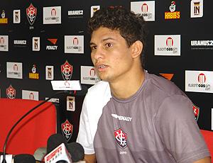 Elkeson do Vitória (Foto: Thiago Fernandes / Globoesporte.com)