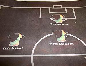 Felipão em jornal sul africano como comentarista para a Copa