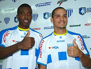 Matheus e Anselmo, novos contratados do Avaí