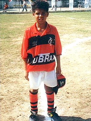 felipe melo com a camisa do Flamengo