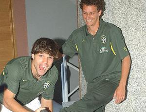 elano e diego, seleção brasileira (Foto: Divulgação)
