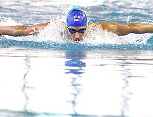 Leonardo de Deus na Copa Latina de natação