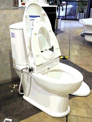 vaso sanitário especial para Maradona