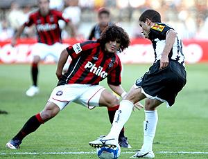 Marcio Azevedo, atlético-pr e Ricardinho, atlético-mg