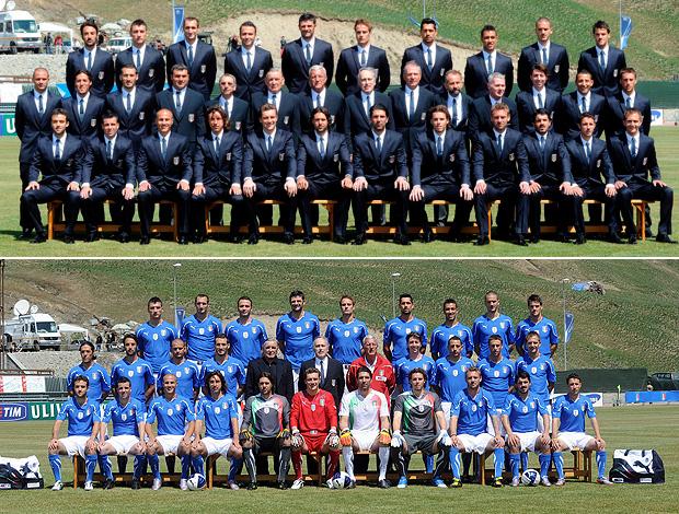 Itália, foto oficial