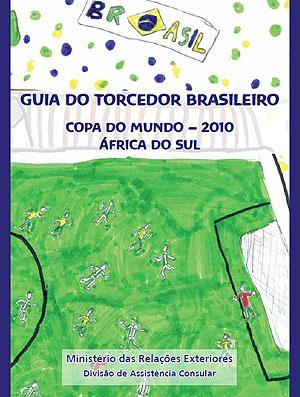 capa do guia do torcedor brasileiro para a Copa do Mundo