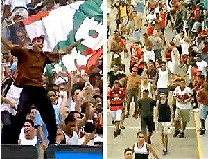 torcidas de flamengo e fluminense aparecem no filme oficial da copa do mundo