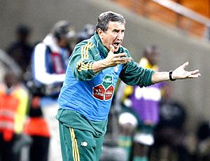 Parreira comanda a Seleção da África do Sul