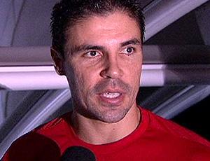 Bolívar, do Internacional, durante entrevista