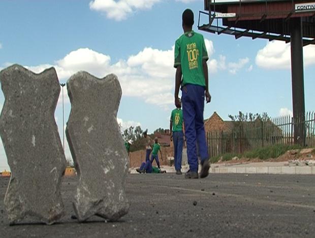 futebol trabalhadores áfrica do sul