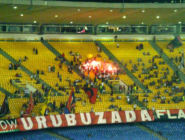 Maracanã vazio contra o Grêmio