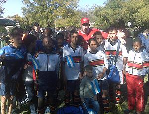 time infantil recebe a Argentina na África