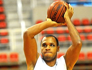 Wagner, jogador de basquete do Flamengo