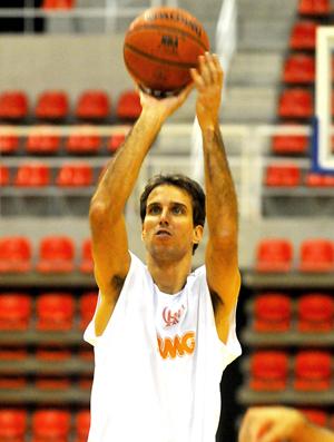 Marcelinho, jogador de basquete do Flamengo