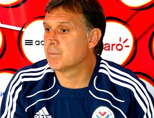 Gerardo Martino, treinador do Paraguai