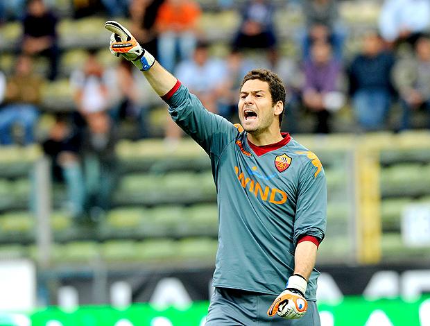 Julio Sergio, goleiro do Roma (Foto: agência Reuters)