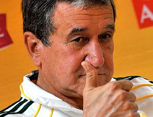 Carlos Alberto Parreira, treinador da África do sul