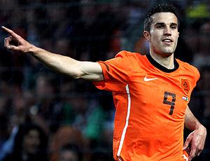 Van Persie jogador da Holanda