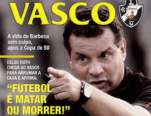 Capa da revista do Vasco
