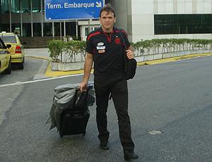 Petkovic no aeroporto