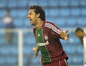 Fred comemora gol do Fluminense