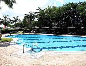 Hotel da seleção brasileira na Tanzânia