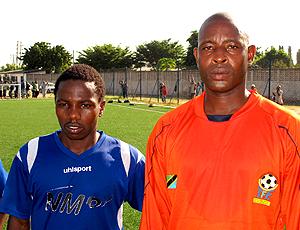 N´Gassa e Mwarami, jogadores da Tanzania