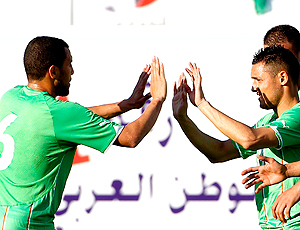 ziani gol, argélia emirados arabes