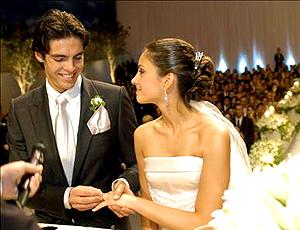 casamento de Kaká com Carolina Celico