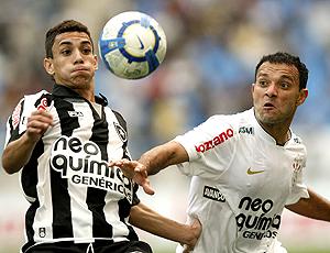 Iarley, no Botafogo x Corinthians