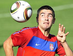 Kolarov treino Sérvia