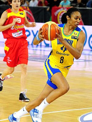 Iziane Pré-Mundial basquete 2008