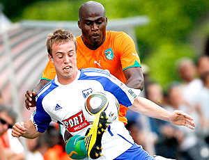 Costa do Marfim jogo-treino