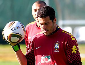 julio cesar gomes brasil treino
