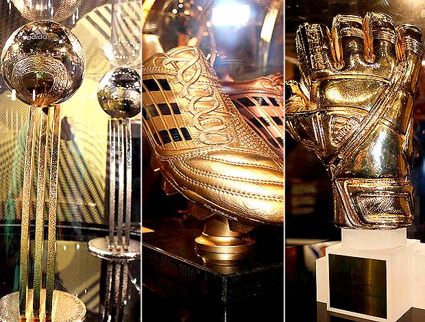 MONTAGEM - troféus melhores da copa