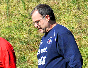 Marcelo Bielsa, técnico do Chile