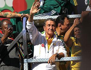 Parreira carreata torcida Bafana Bafana