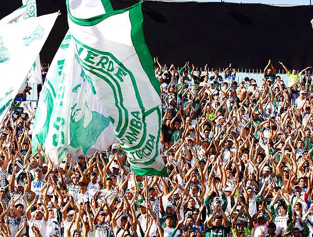 torcida do Palmeiras na apresentação do Kleber