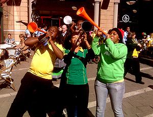 vuvuzela time praça